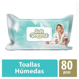 Toalla Húmeda Soft Dreams 80 Piezas